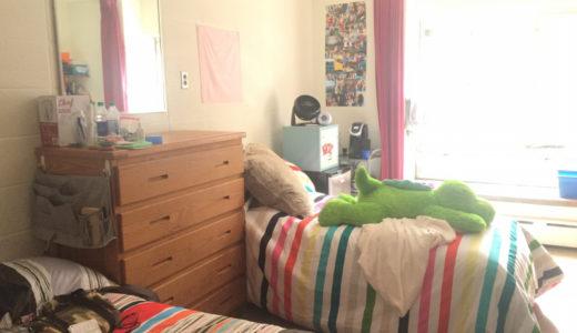 寮の部屋ってどんな感じかというと
