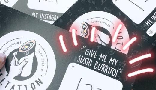 Sushi Burritoooo!!